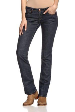 Women Straight - Mavi Women's Straight Fit Jeans - - Blau (13124 OLIVIA; rinse majorca str) - 25/34 (Brand size: 25/34)