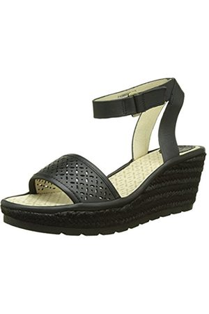 Women Wedges - Fly London Women EKAL969FLY Heels Sandals