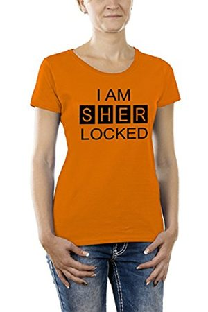 Women T-shirts - Touchlines Women's Girlie T-Shirt I am Sher Locked Size:XL