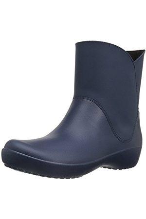 Women Boots - Crocs Women's Rainfloebootie Rain Boots
