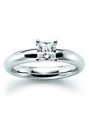 Women Rings - Choose Me Ladies' Ring 925 Sterling 1 Cubic Zirconia White EU Size 54 mm (17.2) 765031