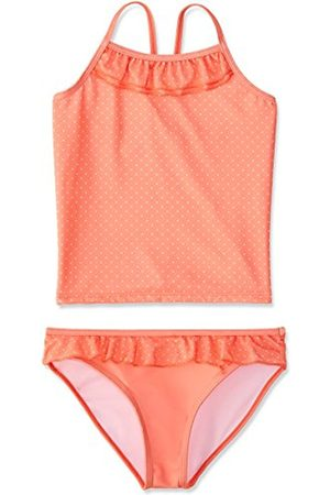 Girls Tankinis - Girl's Dotty Swim Top and Brief Tankini