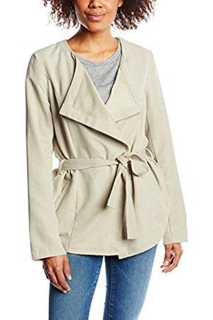 Women Jackets - Vila Women's Virant Jacket, - (Soft Camel)