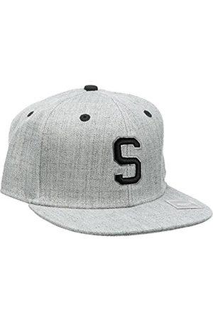 Boys Hats - MSTRDS Boy's Letter Snapback S Kids Cap, -Grau (S 1181,4634)