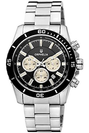 ORPHELIA Fire and Ice Men's Quartz Watch with Dial Analogue Display and Stainless Steel Bracelet 82600
