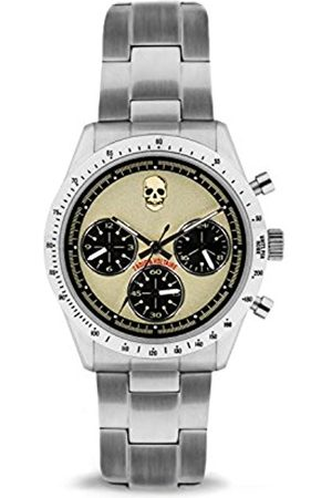 Zadig & Voltaire Unisex Analogue Classic Quartz Watch with Stainless Steel Strap ZVM102