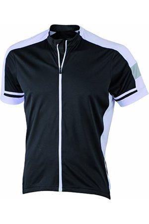 Men T-shirts - James & Nicholson Men's Radtrikots Bike-T Full Zip - Sports Shirt