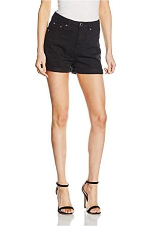 Women Shorts - Boohoo Women's Hatty High Waisted Mom Sports Shorts