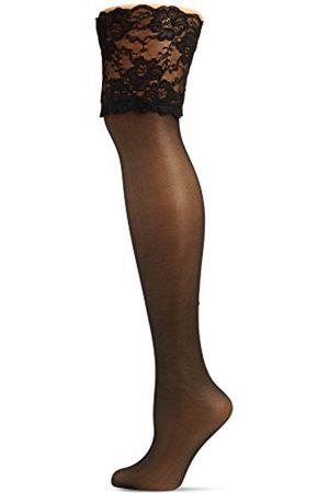 Women Tights & Stockings - Hudson Women's Glamour 20 20 DEN Thigh-Highs - - 5