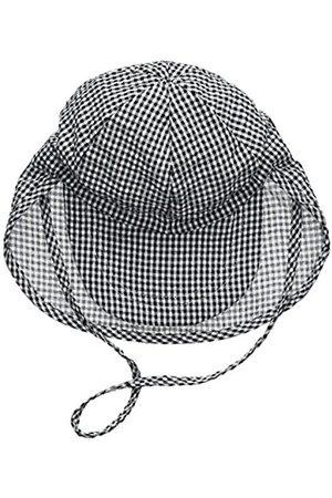 Hats - Melton Baby Boys' Sommerhut Mit Schirm Und Nackenschutz UV 30+, Kariert Cap