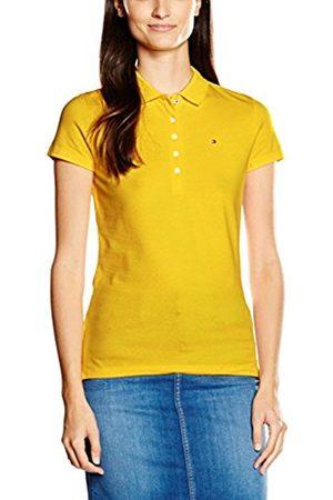 Women Polo Shirts - Tommy Hilfiger Women's 1 Polo Shirt, Gelb (FREESIA 738)