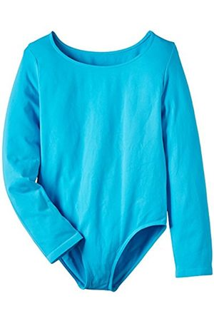 Luigi di Focenza Girl's Thermal Top - Turquoise - One Size