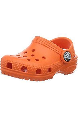 Clogs - Crocs Unisex Kids' Classicclogk Clogs, (Tangerine)