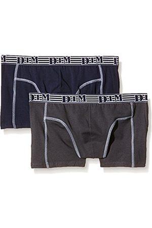 Boys Boxer Shorts - Dim Men's Eco Mode Plain 2 Boy Short - - L (Manufacturer size : 4)