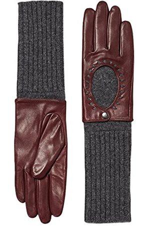 Women Gloves - Esprit Women's 116EA1R013 Gloves, (Bordeaux )