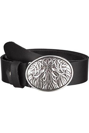 Women Belts - MGM Women's Legno 100164 Plain Belt