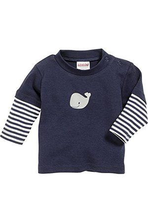 Sweatshirts - Schnizler Unisex Baby Langarmshirt Wal, Marine geringelt, Oeko-Tex Standard 100 Sweatshirt, (Marine/weiß)