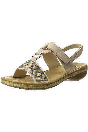 Women Sandals - Rieker Women's 62364 Wedge Heels Sandals