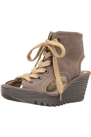 Women Wedges - Fly London Women Yaba702Fly Heels Sandals