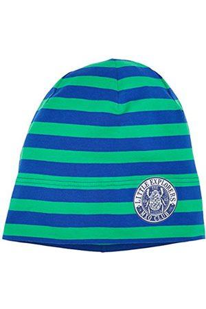 Boys Beanies - maximo Boy's Beanie Middle, 2-Farbringel, Reflexmotiv Hat