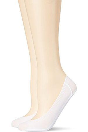 Women Tights & Stockings - Camano Women's Fashion Footie Lacercut 2p Socks