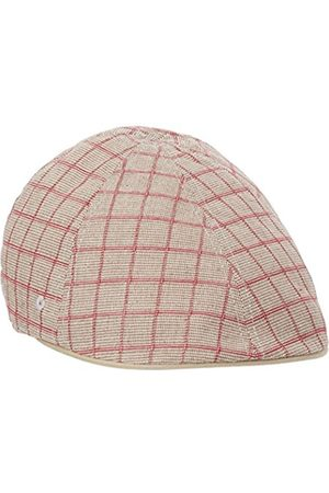 Men Hats - Kangol Headwear Men's Pattern Flexfit Flat Cap