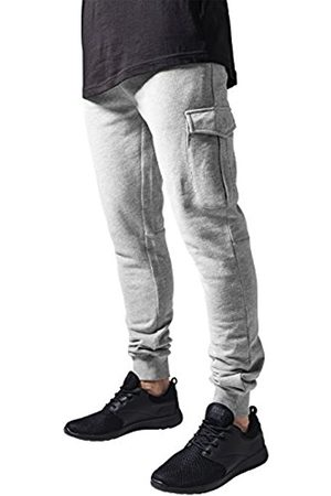 Men Cargo Trousers - Urban classics Men's Fitted Cargo Sweatpants Trousers, -Grau ( 111)
