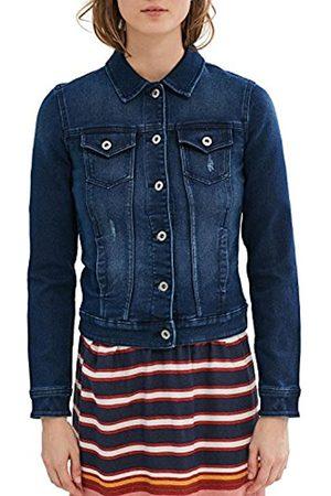 Women Denim Jackets - Esprit Women's 027cc1g014 Jacket