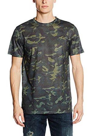 Men T-shirts - New Look Men's All Over Camo T-Shirt