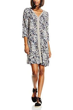 Women Dresses - Saint Tropez Women's N6061 Long Sleeve Dress - multi-coloured - 14