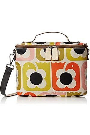 Women Handbags - Orla Kiely Women's Love Birds Print Mini Box Bag Cross-Body Bag