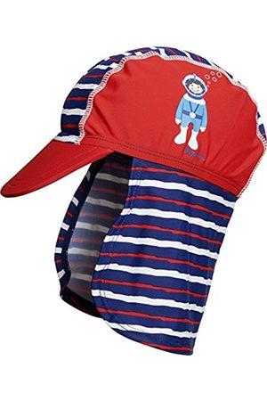 Boys Hats - Playshoes Boy's Bademütze Taucher mit UV-Schutz Hat, (rot)