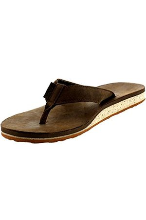 Men Sandals - Teva M Classic Flip Premium, Men's Athletic & Outdoor Sandals, (607 Dark Earth)