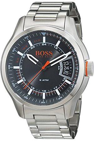 HUGO BOSS Hong Kong Mens Quartz Analogue Classic Silver Stainless Steel Bracelet 1550004