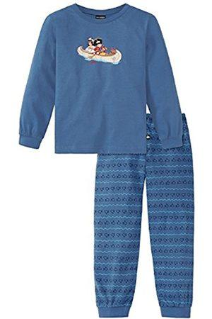 Schiesser Boy's Capt´n Sharky Knaben Schlafanzug Lang Secondary Sleeping Suits