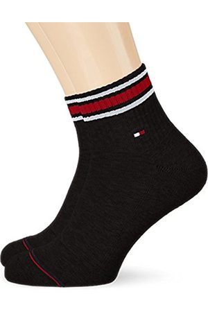 Men Underwear - Tommy Hilfiger Men's TH Iconic Sports Quarter 2P Socks