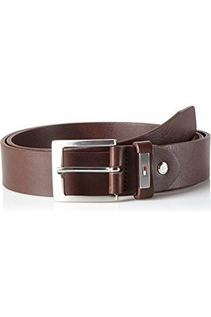 Men Belts - Tommy Hilfiger Men's Metal Plate Loop 3.5 Adj Belt