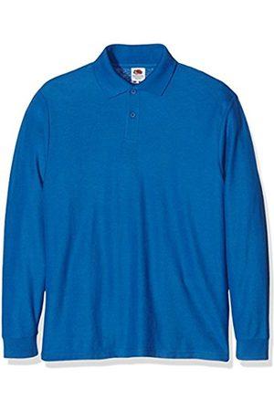 Boys Polo Shirts - Fruit Of The Loom Girl's Boys Longsleeve Polo Shirt