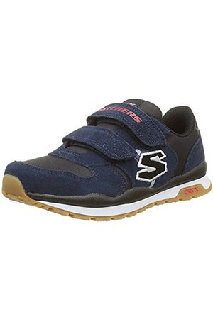 Boys Trainers - Skechers Boys' Throwbax Low-Top Sneakers Size: 2 UK