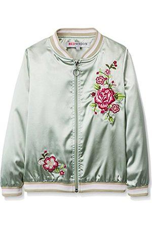 Girls Bomber Jackets - Girl's Embroidered Bomber Jacket
