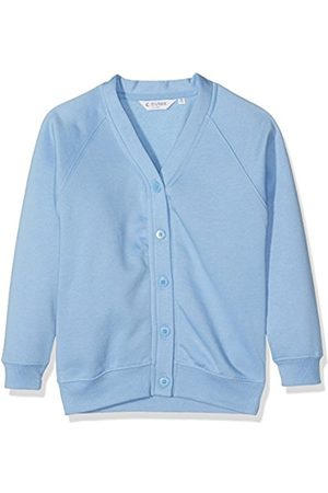 Girls Cardigans - Girl's 260G Sweatshirt Cardigan