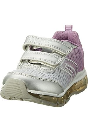Girls Trainers - Geox Girls' J Android B Low-Top Sneakers