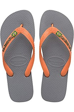 Flip Flops - Havaianas Brasil Logo Unisex Kids Flip Flops