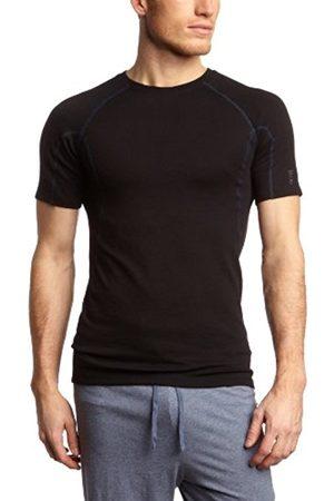 Men Vests & T-shirts - Schiesser Men'S Undershirt 135308-000, Gr. 5 M, 000