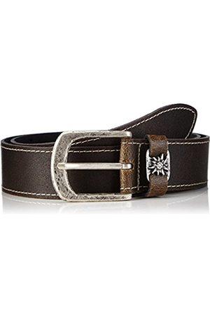 Belts - Werner Trachten Unisex Trachtengürtel Belt - brown - 85 cm