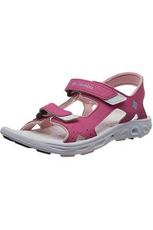 Columbia Girls Youth Techsun Vent sport sandals, (Wild Geranium, Cupid 656)