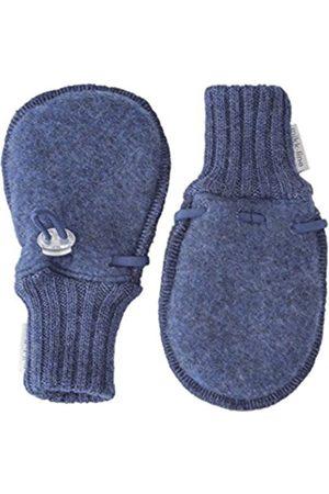 Gloves - Mikk-Line Baby Boys' 9315 Mittens, -Blau (Melange Tahiti 276)