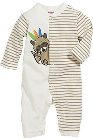 Bathrobes - Schnizler Unisex Baby Schlafoverall Indianer, Oeko-Tex Standard 100 Sleepsuit, (Natur)