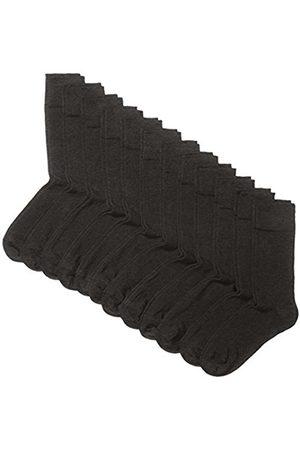 My Way Men's Basic Socks, Pack of 12