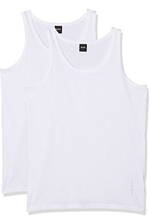 Men Tank Tops - HUGO BOSS Men's Tank Top 2P CO/EL Vest